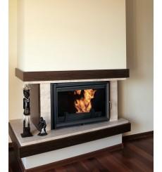 Insert cheminée à bois TWIN 18 kW