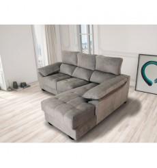 Canapé d'angle convertible réversible lyria 235x170x100cm