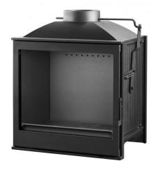 Insert cheminée à bois VILIA déflecteur automatique 15 kW