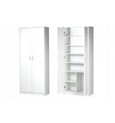 Armoire à 2 portes pour bureau Laurence 74x180 cm