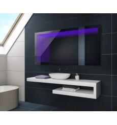 Miroir LED avec effets 3D modification titre