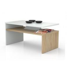 Table basse PRIMA Bicolore  chêne