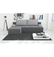 Canapé d'angle convertible réversible ZION 140x200 cm