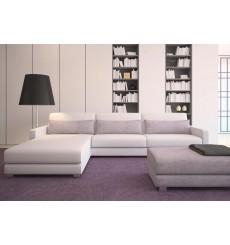Canapé-lit Réversible SUNSET 270x180 cm blanc