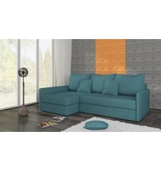 Canapé-lit Réversible ACADIA 208x140 cm en bleu turquois