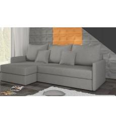Canapé-lit Réversible ACADIA 208x140 cm en gris