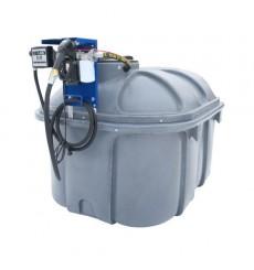 Réservoir de carburant sur base 1500 L