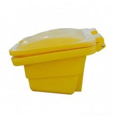 Conteneur robuste pour sel ou sable 175 L