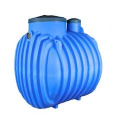 Cuve de stockage 2000L  de récupération d'eau de pluie à enterrer