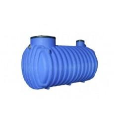 Cuve de stockage 3000L de récupération d'eau de pluie à enterrer
