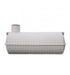 Cuve de stockage de récupération d'eau de pluie et eaux usées 6500 L