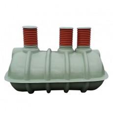 Cuve de stockage 4000L  de récupération d'eau de pluie, 3 trappes