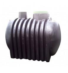 Cuve de stockage de récupération d'eau de pluie et eaux usées 5000 L