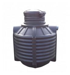 Cuve de stockage 1500L de récupération d'eau de pluie à enterrer