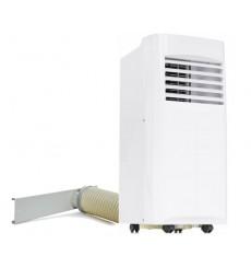 Climatiseur mobile réversible PREMIUM 9000 BTU/H triple action 2650 W