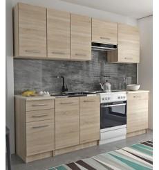 Malta Oak Kitchen Set 240 cm