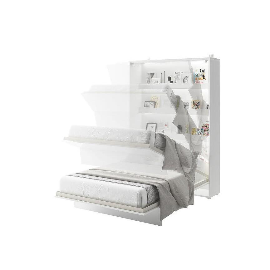 Lit escamotable DENEB vertical 90x200 cm en trois coloris