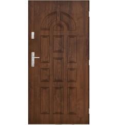 Porte d'entrée CHAVEL 90 cm en acier inoxydable en 2 coloris