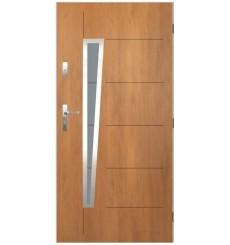 Porte d'entrée NIAGARA 90 cm en acier inoxydable  Winchester