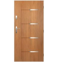 Porte d'entrée KATALIA 90 cm en acier inoxydable Winchester