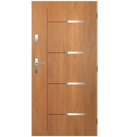 Porte d'entrée KATALIA 80 cm en acier inoxydable