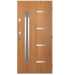 Porte d'entrée KATERINA 80 cm en acier inoxydable Winchester