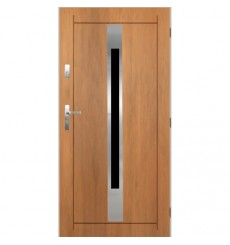 Porte d'entrée WORAKLS V 80 cm en acier inoxydable Winchester