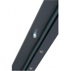 Porte d'entrée SOLEA  80 cm en acier inoxydable