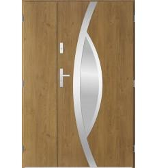 Porte d'entrée double PEGAS 80x40 cm winchester