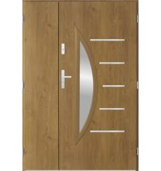 Porte d'entrée double CENTORO 80x40 cm winchester