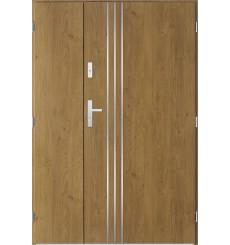 Porte d'entrée double GAMO 80x40 cm winchester