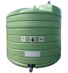 Réservoir d'engrais liquide à double paroi  5000 L