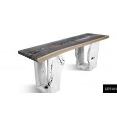Table URBAN 3 Q 170 CM en chêne massif
