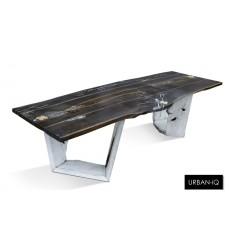 Table urban  4 Q 250 CM en chêne massif