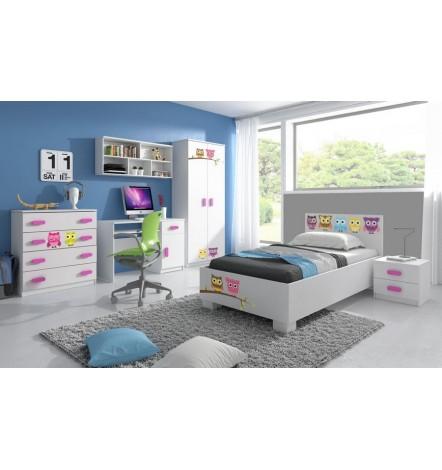 Chambre enfant 6 éléments HIBOU