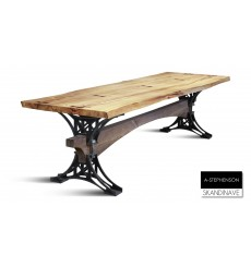 Table STEPH  270 CM en ACACIA massif