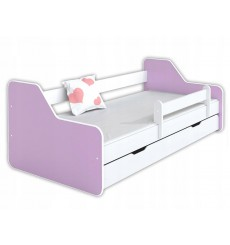 Lit enfant DIONE purple 80x160 cm