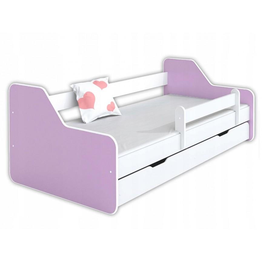 Lit enfant DIONE purple 80x160 cm