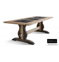 Table à manger en chêne massif BOUND-AVA 240 cm