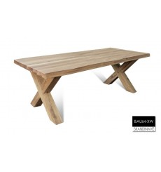 Table à manger en chêne massif BAUM-XW 240 cm
