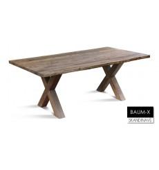 Table à manger en chêne massif BAUM-X