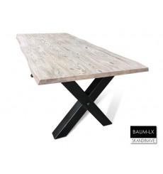 Table à manger en chêne massif BAUM-LX 220 cm