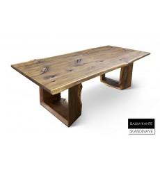 Table à manger en chêne massif Baum-KANTE 3, 240 cm
