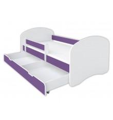 Lit enfant Chery violet  80x160 cm