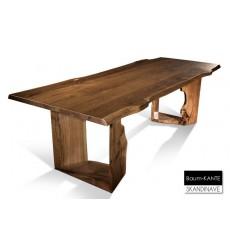 Table à manger en chêne massif Baum-KANTE 260 cm