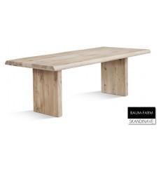 Table à manger en chêne massif BAUM-FARM 220 cm