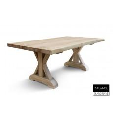 Table à manger en chêne massif BAUM-CL 160 cm