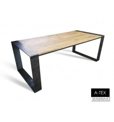 Table à manger en chêne massif A-TEX RUST DIN 220 cm