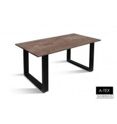 Table à manger en chêne massif A-TEX NATUR DIN 2, 160 cm