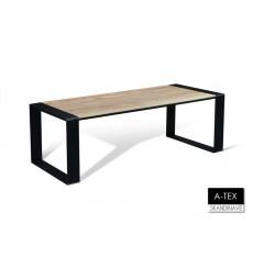 Table à manger en chêne massif A-TEX NATUR DIN 220 cm